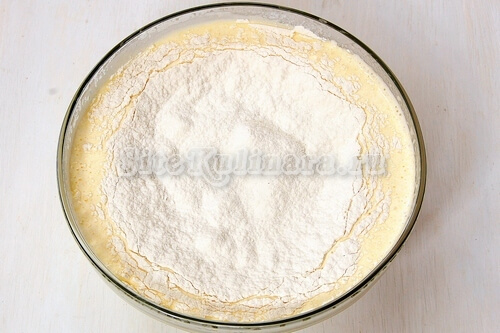 бисквит тесто