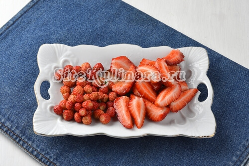 фруктовый салат пошагово