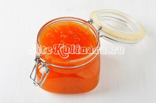 конфитюр +из персиков +на зиму рецепт