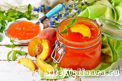 конфитюр +из персиков +на зиму