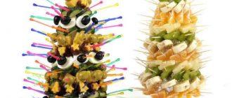 Канапе на Новый год 2022: простые и вкусные рецепты на шпажках